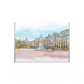 Tablou Canvas Main Square