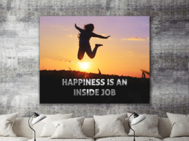 Tablou canvas motivational - Happiness