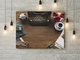 Tablou Canvas Old desk