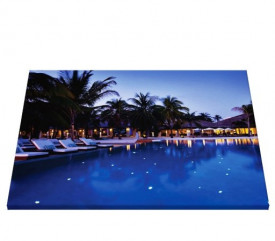 Tablou canvas - Peisaj piscina 1