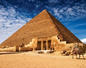 Tablou canvas - piramida