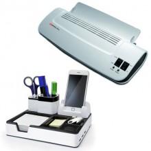 Laminator A4 OL 289 75 - 125 microni + Organizator birou DO 003-17