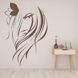 Sticker Hair Salon Girls Beauty