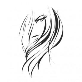 Sticker Hairdressers Hair Salon