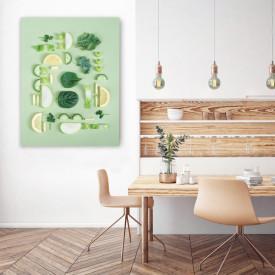 TABLOU BUCATARIE - SLICED GREENS