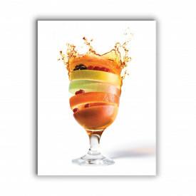 TABLOU BUCATARIE - SPLASH FRUIT COCKTAIL
