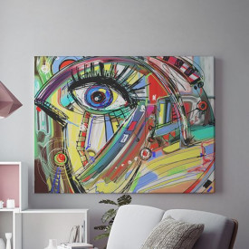 Tablou Canvas Abstract Eye