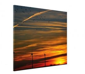 Tablou canvas - apus de Soare 01