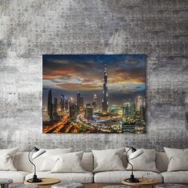 Tablou Canvas Dubai Noaptea