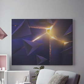 Tablou Canvas Futuristic Light- 01