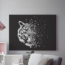 Tablou Canvas Glass tiger