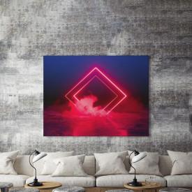 Tablou Canvas Neon Smoke