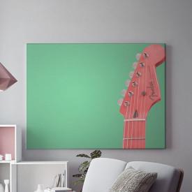 Tablou Canvas Riff rosu