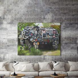 Tablou Canvas TV Elephant