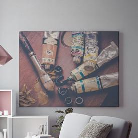 Tablou Canvas Ustensile de pictura