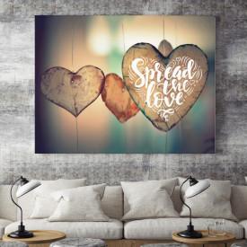 Tablou motivational - Spread love