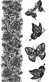 Tatuaj temporar -mandala- 10x17cm