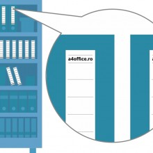 Etichete personalizate pentru biblioraft, 50 buc, PVC, rezistente la apa