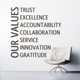 Our values - valorile noastre