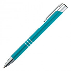 Set 5 pixuri metalice Ascot, mina albastra -diverse culori