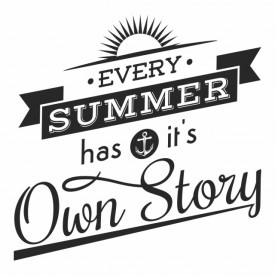 Sticker Its Own Story Summer