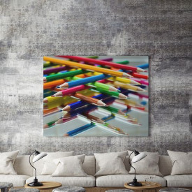 Tablou Canvas Colorful geometry