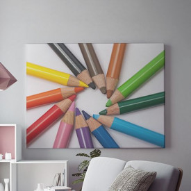 Tablou Canvas Colorful Spiral