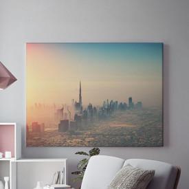 Tablou Canvas Dubai, vedere aeriana