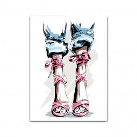 Tablou Canvas Fashion shoes