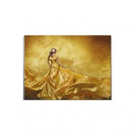 Tablou Canvas Golden Lady