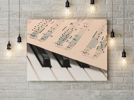 Tablou Canvas Partitura