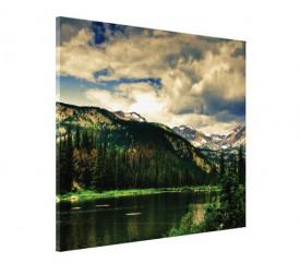 Tablou canvas - peisaj de munte 02