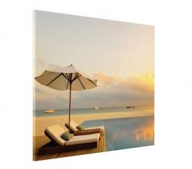 Tablou canvas - peisaj plaja 01