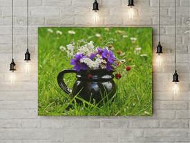 Tablou Canvas Ulcior cu flori