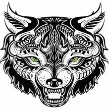 Tatuaj temporar -Felina- 24X22cm