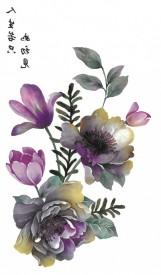 Tatuaj temporar -trandafir japonez- 10x17cm