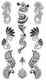 Tatuaj temporar -design- 10x17cm