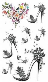 Tatuaj temporar - Shoes- 17x10cm