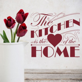 Sticker Heart Of The Home