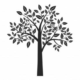 Sticker Leafy Tree Birch
