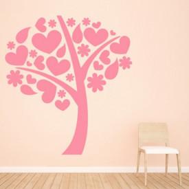 Sticker Love Heart Tree