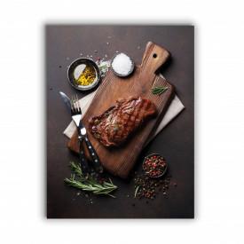 TABLOU BUCATARIE - TASTY STEAK