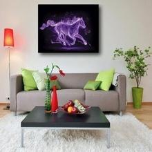 Tablou canvas - Abstract cal mov