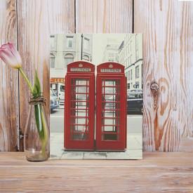 Tablou Canvas Cabine telefonice Londra