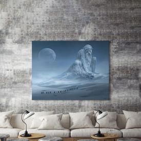Tablou Canvas Colosul de gheata