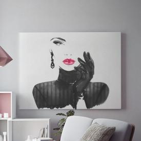 Tablou Canvas Dark Lady