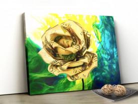 Tablou canvas motivational - Lucky Flower