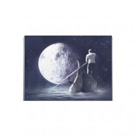 Tablou Canvas Navigand Catre Luna