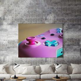 Tablou Canvas Pink joystick