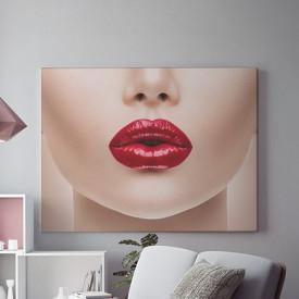 Tablou Canvas Tempting lips